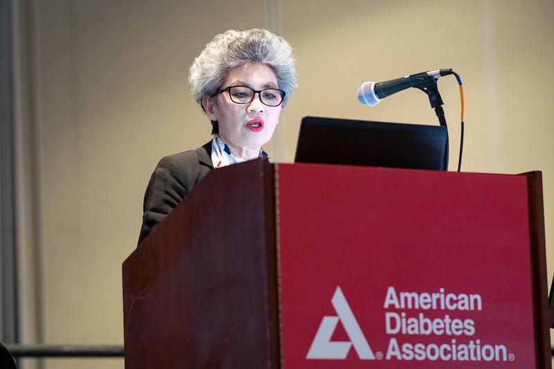 Juliana Chan during ADA Diabetes Care Symposium?Highlights of Diabetes Care?Three Hot Topics