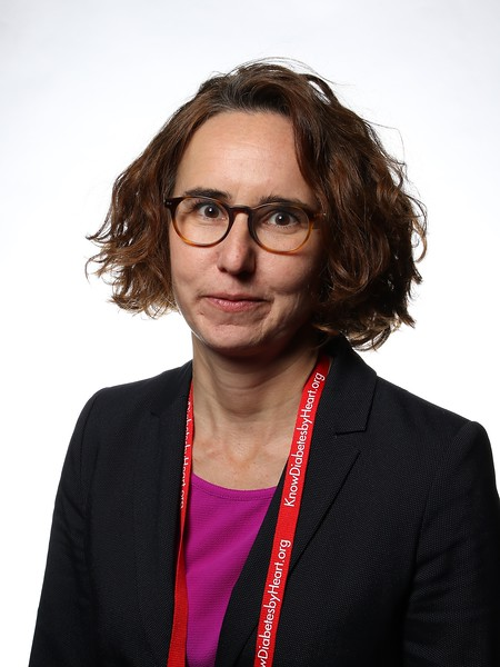 Katharina Laubner MD of University of Freiburg