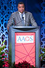 Michael L. Parks accepts the 2019 AAOS Diversity Award during Your Academy 2019: Awards Presentation for Kappa Delta & OREF,