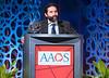 Samer Attar, M.D., accepts the 2019 AAOS Humanitarian Award during Your Academy 2019: Awards Presentation for Kappa Delta & OREF,