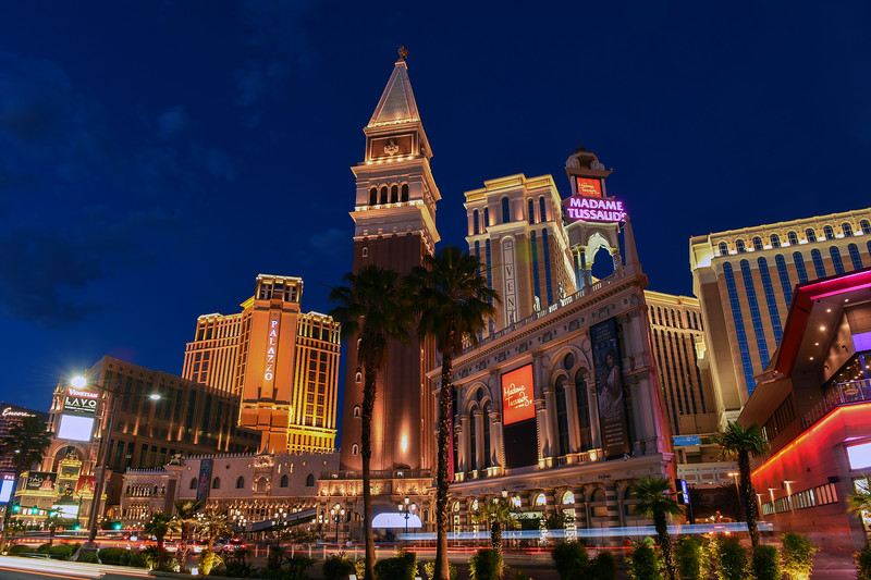 The Palazzo and Venetian Hotels in Las Vegas