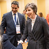 Kristy L. Weber during International Scholarship Alumni Meeting