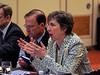 Board members during Board of Directors Meeting