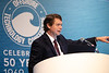 Tony Beebe speaks during Topical Breakfast: Mobile Offshore Drilling Unit Reactivation