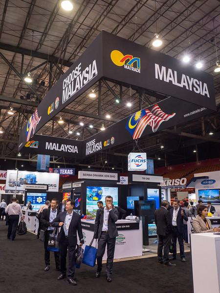Attendees during Malaysian Pavillion