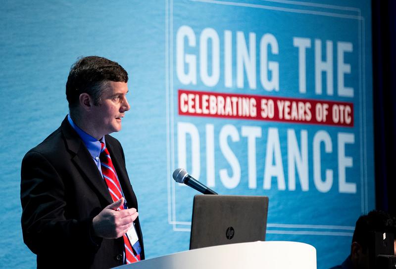 Andrew Kilner speaks during Technical Session: Advances in Mooring Technology