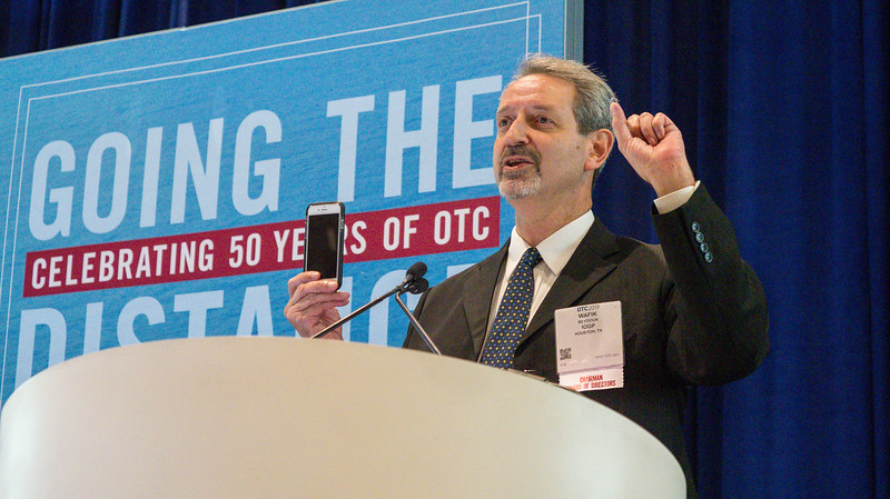 Wafik Beydoun, Chairman of OTC during OTC?s Golden Anniversary Opening Session: The Next 50 Years of Offshore Developments