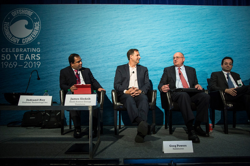 Pannelists during Technical Session: Venture Capital Investment Driving Innovation in Offshore Deepwater