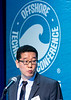 Donghwan Lee speaks during Technical Session: Advances in Mooring Technology