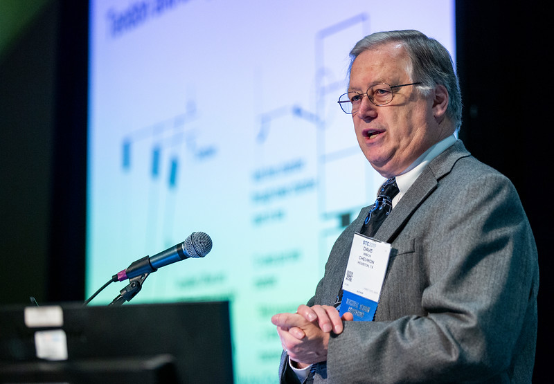 David Wisch during Technical Sessions: Unique Applications for Managing the Integrity of Floating Systems