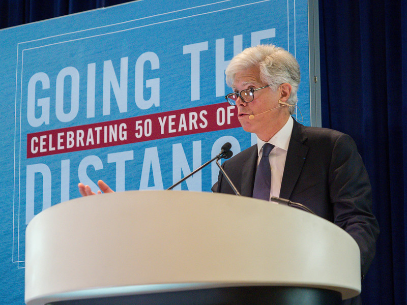 Arnaud Breuillac, President, Exploration & Production, Total during OTC?s Golden Anniversary Opening Session: The Next 50 Years of Offshore Developments