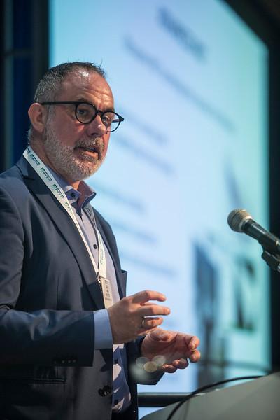 Sigve Barvik presents during Model Based Digitization of Engineering Systems