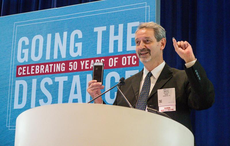 Wafik Beydoun, Chairman of OTC during OTC?s Golden Anniversary Opening Session: The Next 50 Years of Offshore Developments