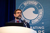 Joseph Rousseau speaks during Topical Breakfast: Mobile Offshore Drilling Unit Reactivation