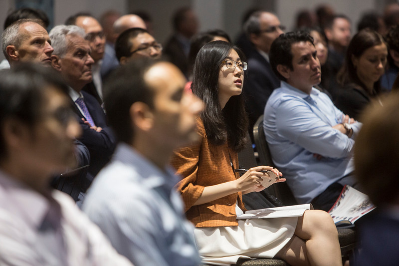 Attendees during Technical Sessions: Geotechnics for Offshore Renewables