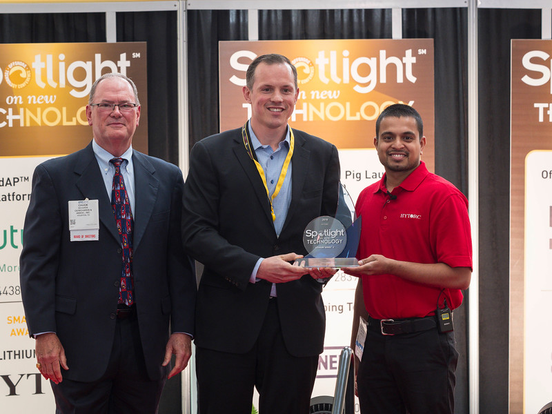Awardees during Spotlight on New Technology Reception and Presentation