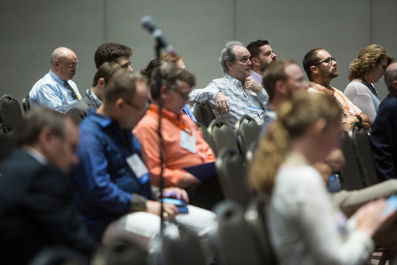 Attendees during Technical Sessions: Advances in Offshore Marine and Hydrokinetic Energy