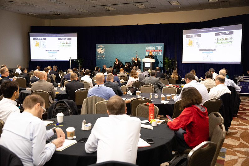 Presenters and attendees during Topical Breakfast: Center for Offshore Safety: Digitalization and New Technology: Senior Leadership Perspectives
