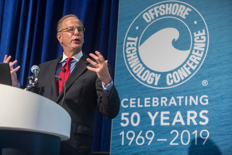 director of the Bureau of Safety and Environmental Enforcement Scott Angelle speaks during Topical Luncheon: Center for Offshore Safety: Digitalization and New Technology: Senior Regulatory Leadership Perspectives