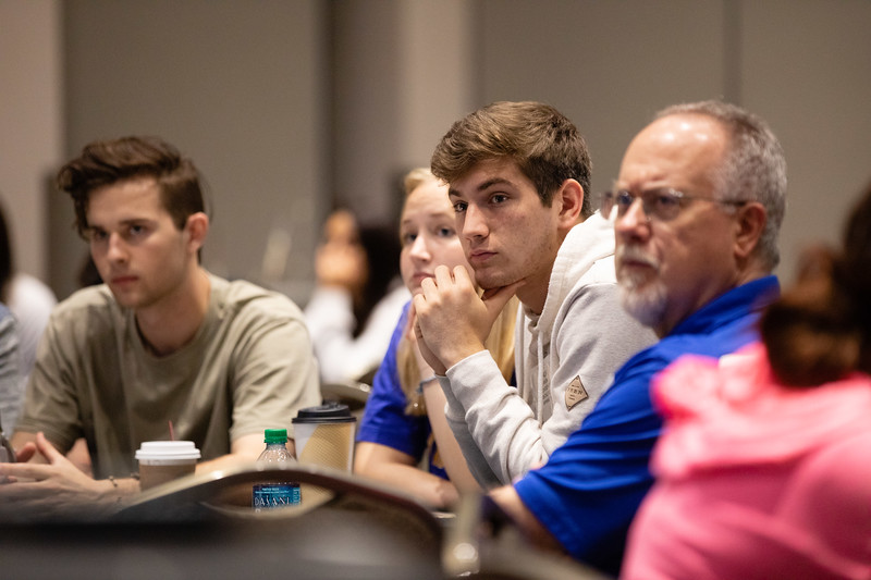 Students and speakers during Energy Education Institute: High School Student STEM Event