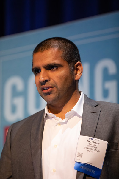 Darshan Sachde speaks during Technical Sessions: Offshore CO2 Storage: Technical Challenges for New Business Opportunities?