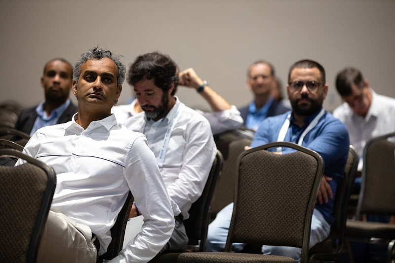 Speakers and attendees during Technical Sessions: Metocean Advances