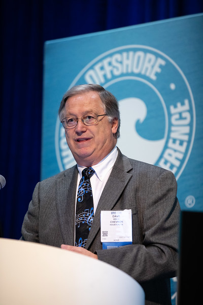 Dave Wisch speaks during Technical Sessions: Next Generation Deepwater Development Concepts