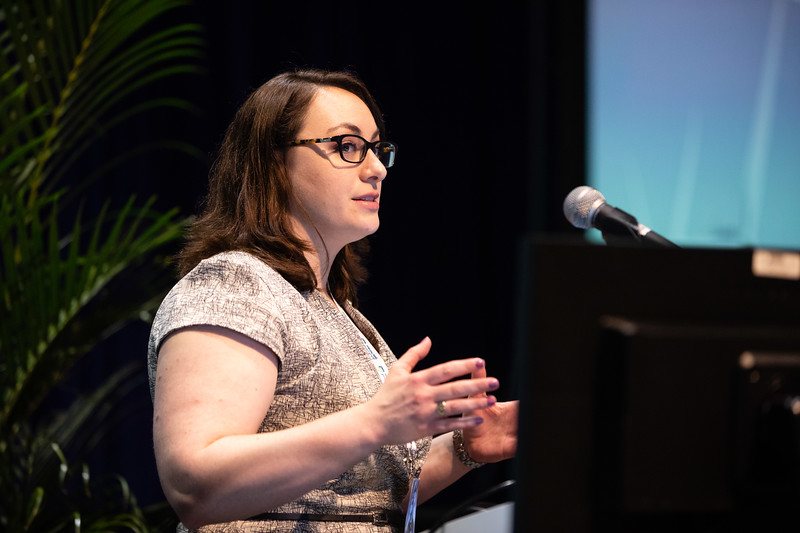Katherine Guttenplan speaks during Technical Sessions: Offshore Renewables: Site Investigation Challenges for Environmental and Engineering Assessment