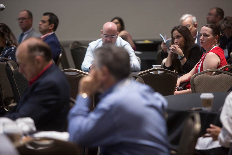 Attendees during Topical Breakfast: BOEM: An Update on the US Offshore Regulatory Environment