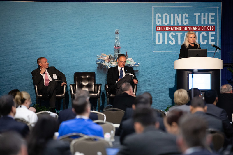 Brittany Benko speaks during Topical Breakfast: Center for Offshore Safety: Digitalization and New Technology: Senior Leadership Perspectives