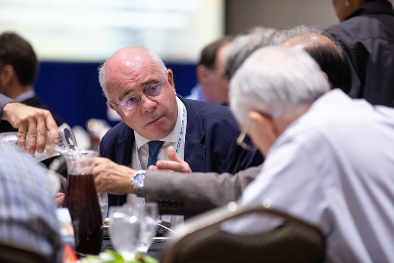 Speakers and attendees during Topical Luncheon: Keeping the Faith: An Independent Energy Company?s View on Why the Offshore and Deepwater Remain Critical to Meeting Future Energy Demand