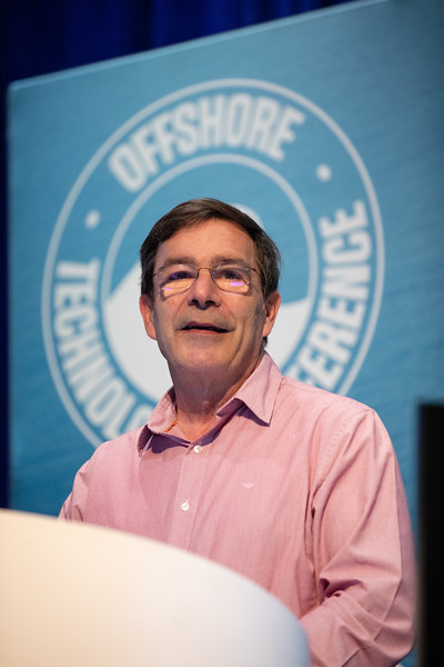 Bob Sauve speaks during Technical Sessions: Next Generation Deepwater Development Concepts