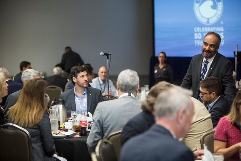Attendees during Topical Luncheon: Beyond the Pre-Salt: The Transformation of Brazil's Oil and Gas Sector