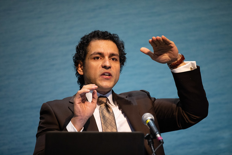 Hamed Hamedifar speaks during Technical Sessions: Project Monetization