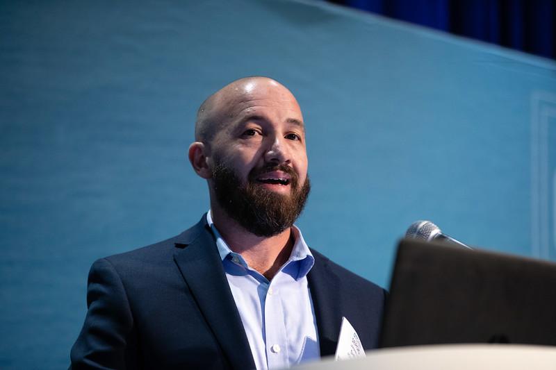 Sergio Jaramillo speaks during Technical Sessions: Metocean Advances