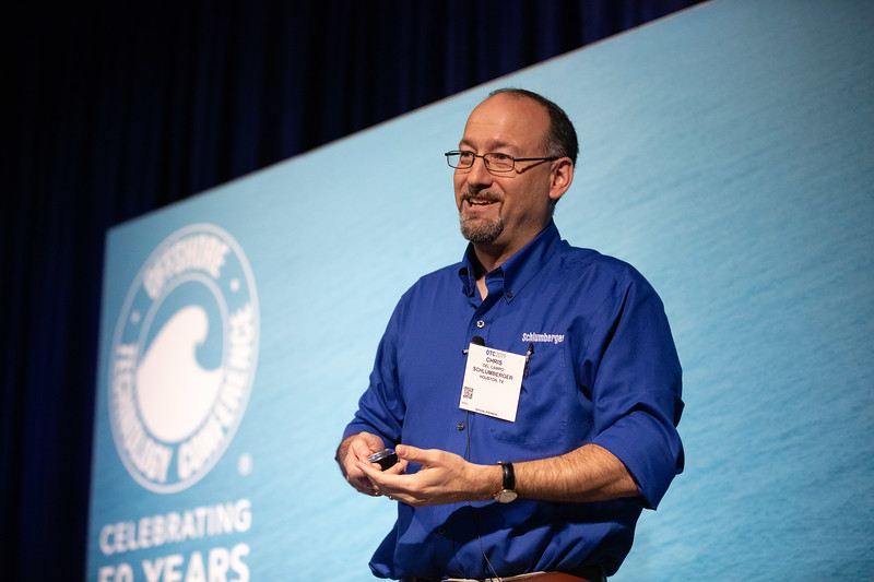 Chris Del Campo speaks during Energy Education Institute: Teacher Workshop