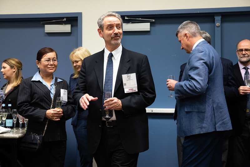 Staff and board members during Board of Directors and Friends Closing Reception