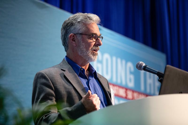 Daniel Mendelsohn speaks during Technical Sessions: Metocean Advances