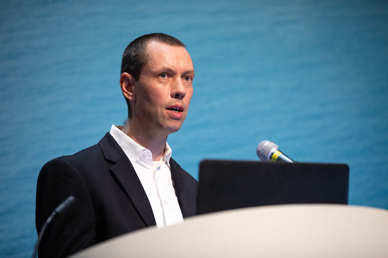 Ian Roberts speaks during Technical Sessions: Project Monetization