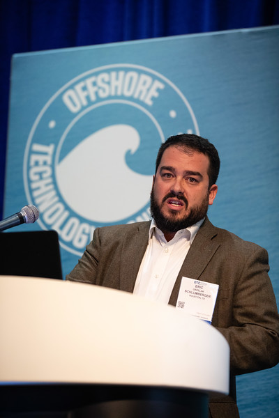 Eric Grzelak speaks during Technical Sessions: Next Generation Deepwater Development Concepts