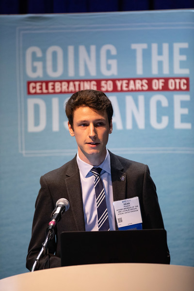 Sean Pearce speaks during Technical Sessions: Offshore Renewables: Site Investigation Challenges for Environmental and Engineering Assessment