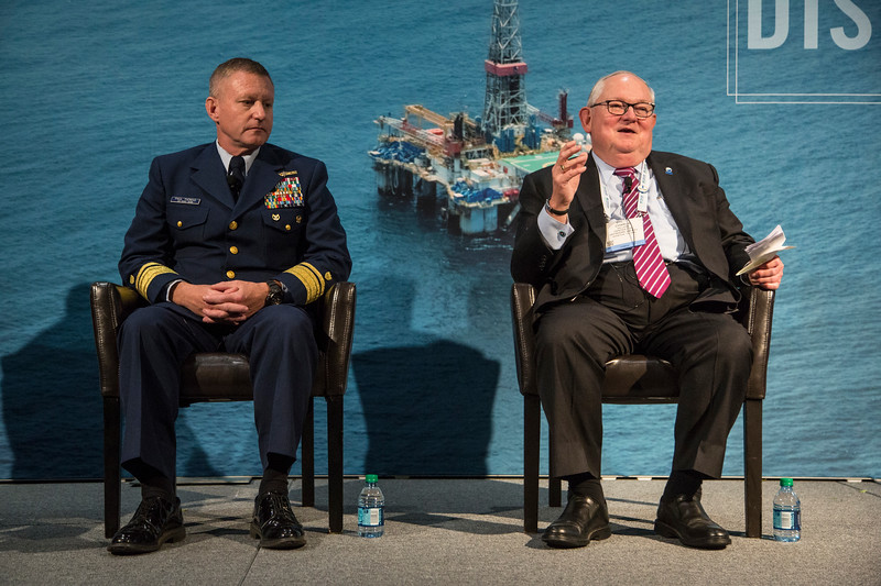 Charlie Williams speaks during Topical Luncheon: Center for Offshore Safety: Digitalization and New Technology: Senior Regulatory Leadership Perspectives