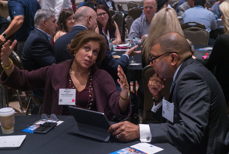 Speakers and attendees during Networking Event: Supplier Diversity: Bold Intentional Growth for Offshore Technology