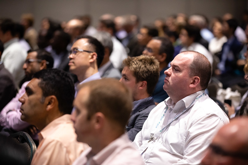 Attendees during Morning Panel and Technical Sessions: Digitalization Deployed: Case Studies