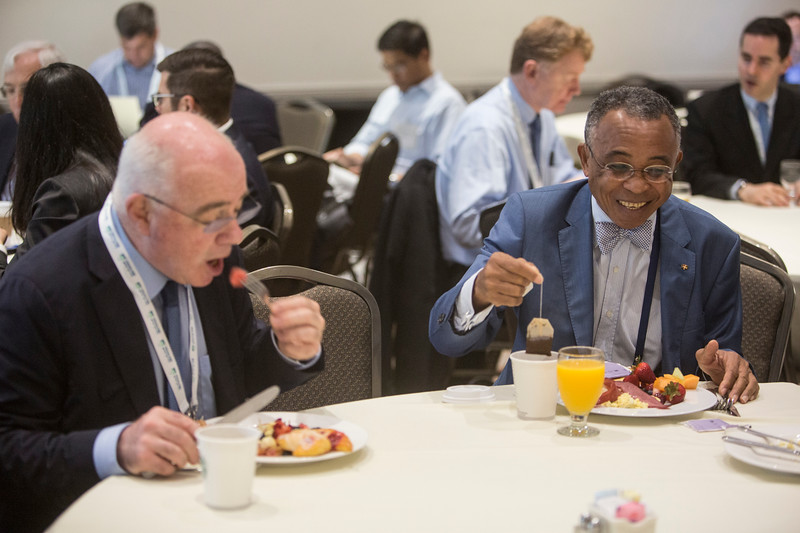Attendees during Topical Breakfast: DOE Oil and Gas: Addressing Technology and Market Challenges