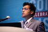 Abhishek Punase speaks during Technical Sessions: Cost Effective Production Chemistry Solutions for Sustainable Production