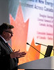 Douglas George speaks during Around the World Series | Canada