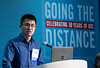 Ruxin Zhang speaks during Afternoon Panel and Technical Session: Offshore Drilling, Reservoirs, and Foundations: Solutions for Today and Tomorrow
