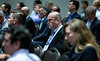 attendees look on during Afternoon Panel and Technical Sessions: Phased Deepwater Field Developments