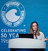 Eleni Beyko speaks during Afternoon Panel and Technical Sessions: Phased Deepwater Field Developments